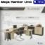 Meja Kantor Uno (Platinum Series) Manager Set