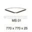 Meja Kantor VIP MS 01 (Table Conector)