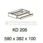 Meja Kantor VIP KD 205 (Keyboard Drawer)
