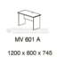 Meja Kantor VIP MV-601 A (Office Desk)
