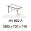Meja Kantor VIP MV-602 A (Office Desk)