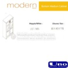 Bottom Medium Cabinet Uno UST 7465