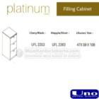 Filling Cabinet Uno UFL 2253, UFL 2263