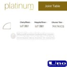 Joint Table Uno UJT 2851, UJT 2861