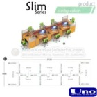 Uno Slim Series Configuration C