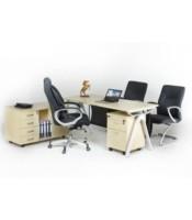 """Meja Kantor Aditech FR 05 + Laci Dorong"""