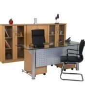 """Meja Kantor Aditech MG 01 (180cm) - Tanpa Laci"""