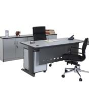 """Meja Kantor Aditech MS 03 (160CM) - Tanpa Laci"""